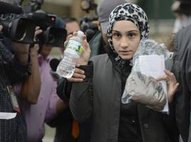 Sister of accused Boston Marathon bombers arrested for bomb threat